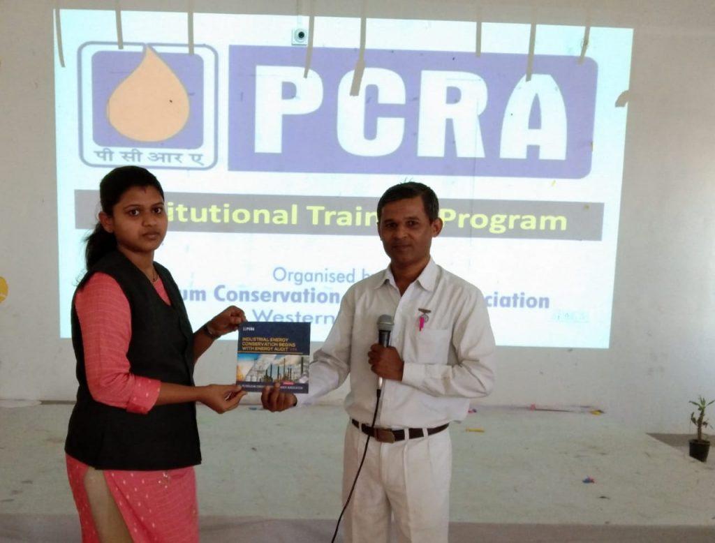 10th April-Institutional Training Program  Shreeyash Institute of Pharma Education & Research, Aurangabad